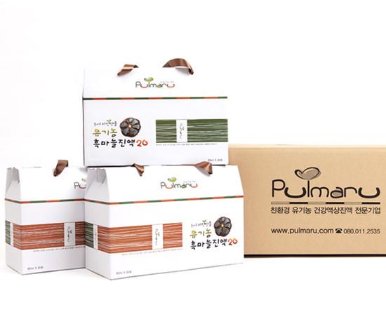 Pulmaru Jayeonmaneul Organic Black Garlic Extract20 90 pack
