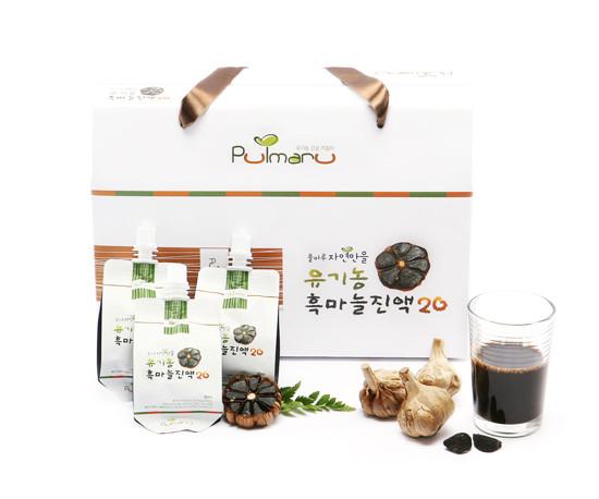 Pulmaru Jayeonmaneul Organic Black Garlic Extract20 30 pack