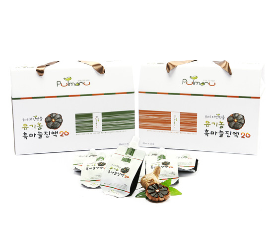 Pulmaru Jayeonmaneul Organic Black Garlic Extract20 60 pack