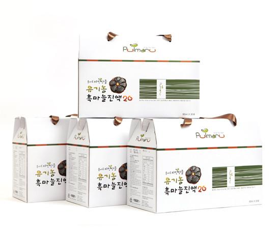 Pulmaru Jayeonmaneul Organic Black Garlic Extract20 120 pack